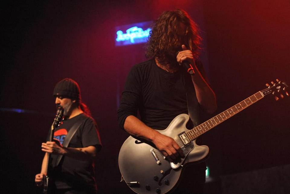 Soundgarden (performing in Germany last year) played hits and obscure songs in its 2½-hour show at the Orpheum.