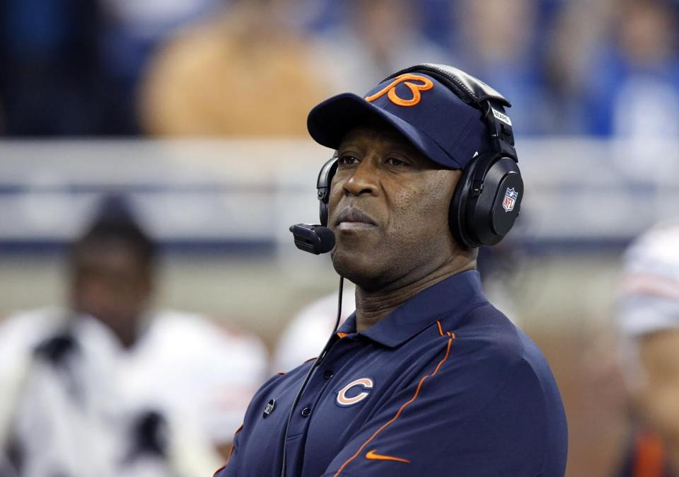 Lovie Smith was fired following a 10-6 season.