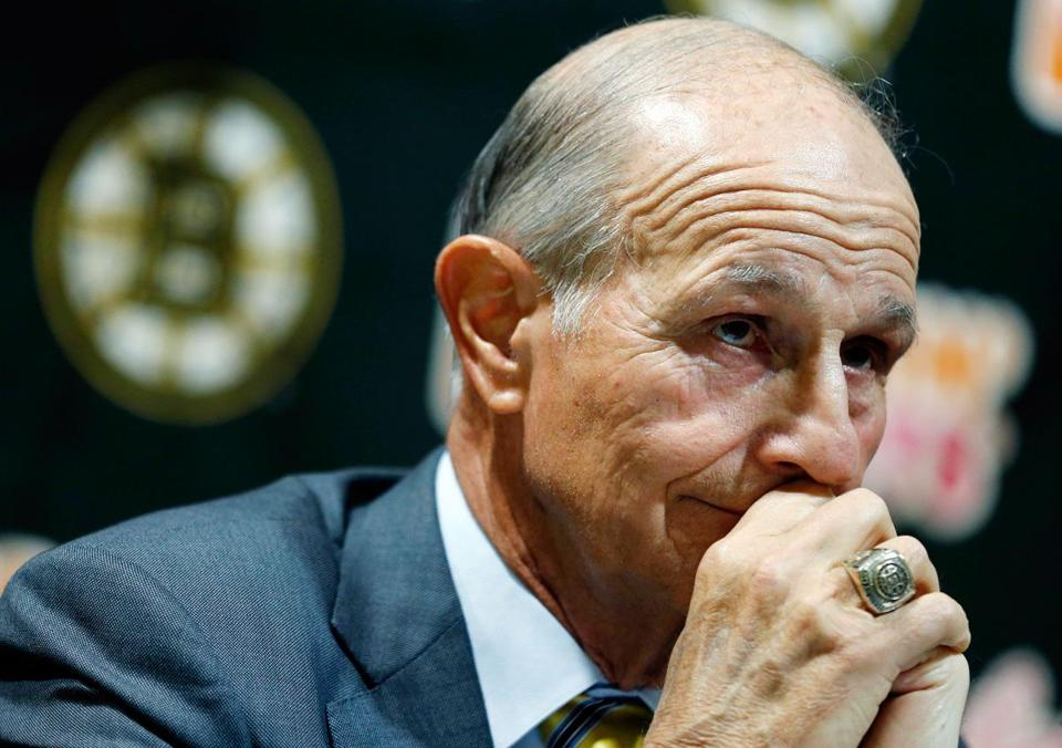 Jeremy Jacobs, who turns 73 this month, also talked as if he is preparing for the day he will step down as chairman of the league's Board of Governors.