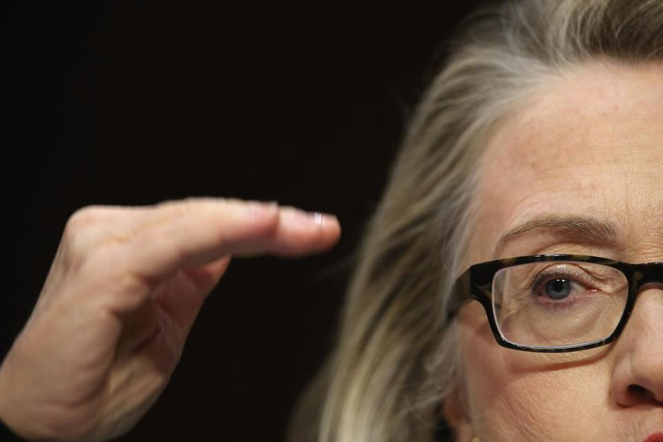 Secretary of State Hillary Clinton testified before the Senate Foreign Relations Committee on Capitol Hill Wednesday.