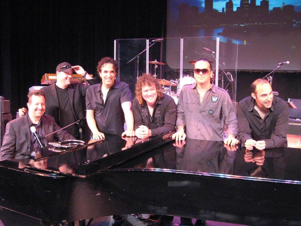 "Wade Preston (left, with his Movin' Out Band) says playing the Piano Man on Broadway ""opened a lot of doors for me."""