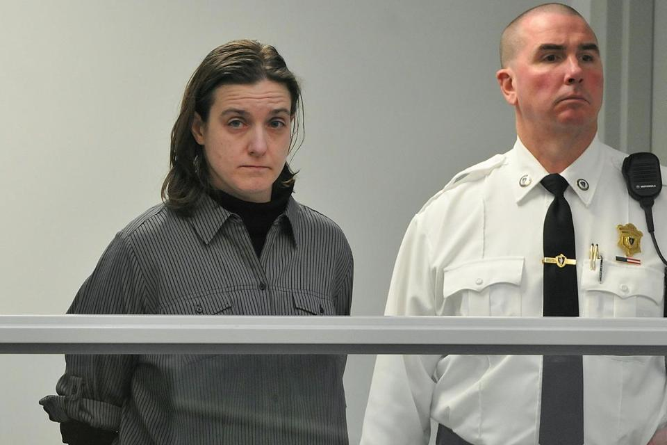 Sonja Farak was arraigned in Belchertown Tuesday. She was released on $5,000 bail.