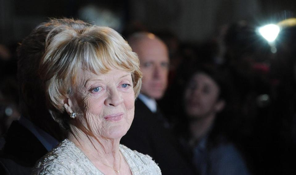 "The SAG awards have given Maggie Smith four nominations, for supporting and ensemble work in ""The Best Exotic Marigold Hotel"" and the same for ""Downton Abbey."""