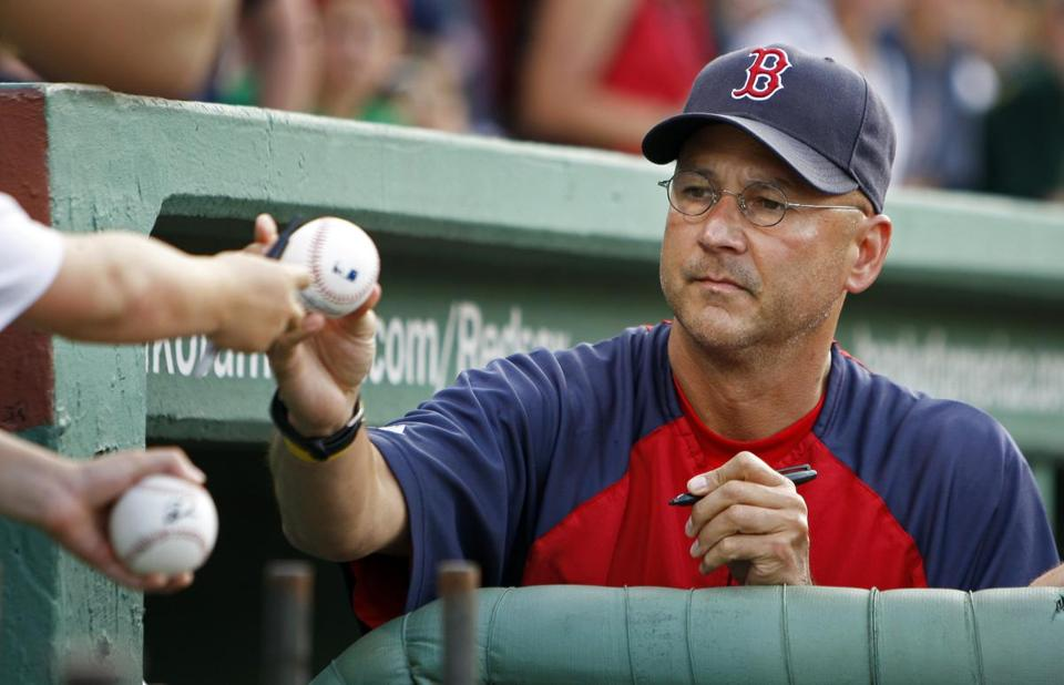 Terry Francona was the Red Sox manager from 2004-2011, and won two World Series during his tenure.