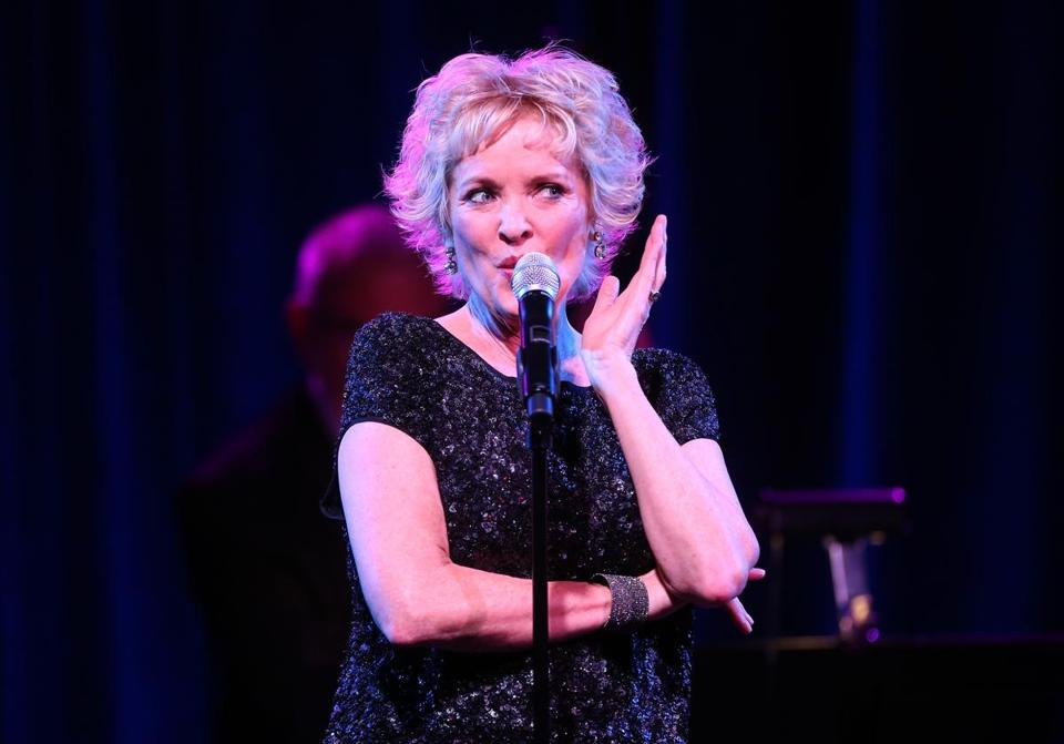 Christine Ebersole performed this month in Pasadena, Calif., for a television critics tour.