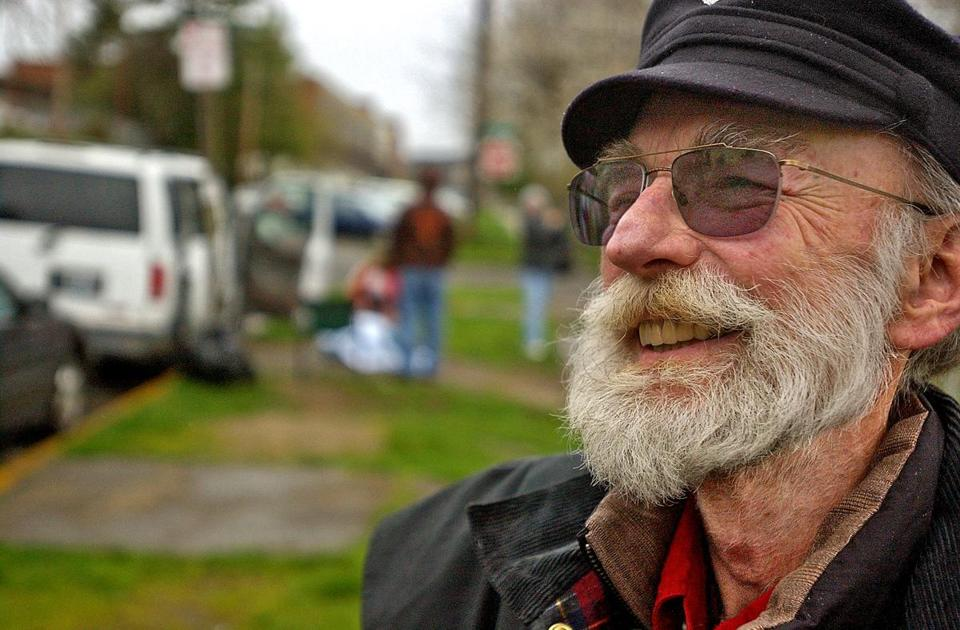 Mr. Purchase started a needle exchange in 1988 in downtown Tacoma.