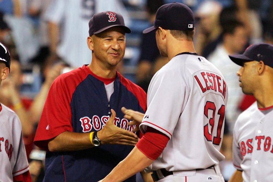 """Tito was great with me. I don't think with any other manager I could have had that comfort level,"" Jon Lester said on manager Terry Francona, who guarded the pitcher's privacy during his treatment for large-cell lymphoma."