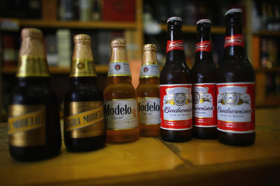If Anheuser-Busch owned Grupo Modelo, makers of Corona, the company would control 46 percent of annual US beer sales.
