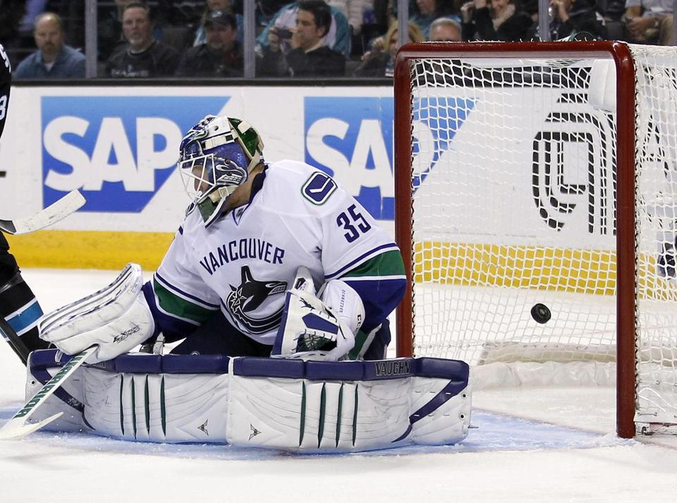 Cory Schneider is in his fifth season with the Canucks.