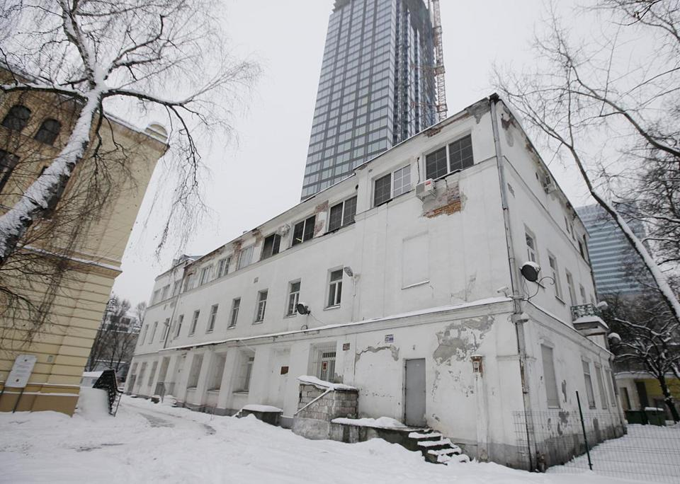 "The ""white building"" in the Polish capital is one of the few surviving remnants of the infamous Warsaw Ghetto."