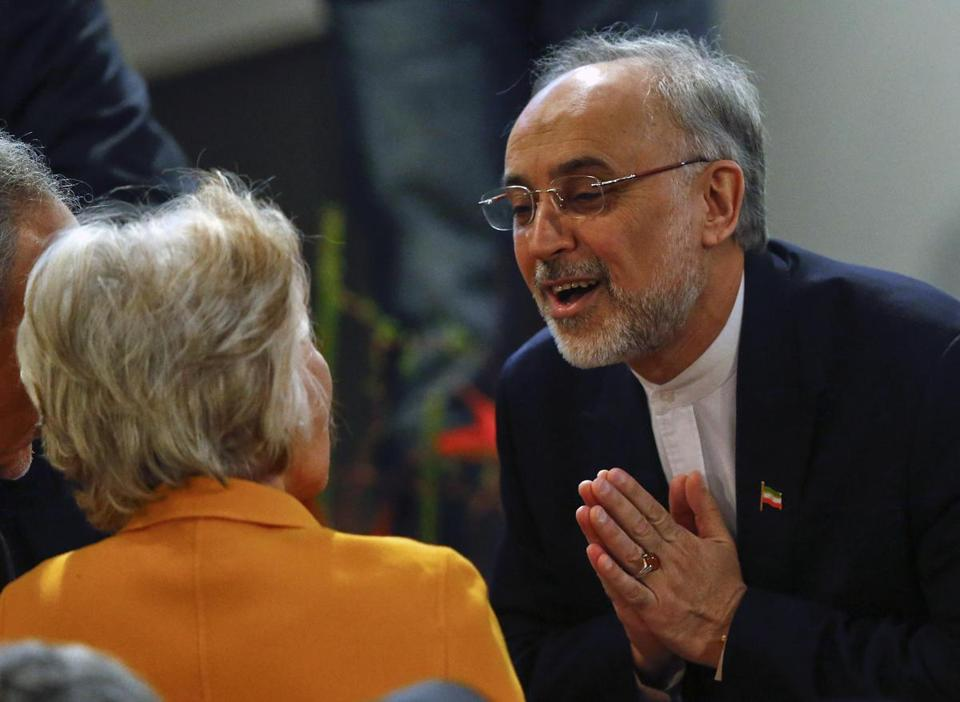 The comments by Iran's foreign minister, Ali Akbar Salehi, were not seen as definitive since he cannot set policy.