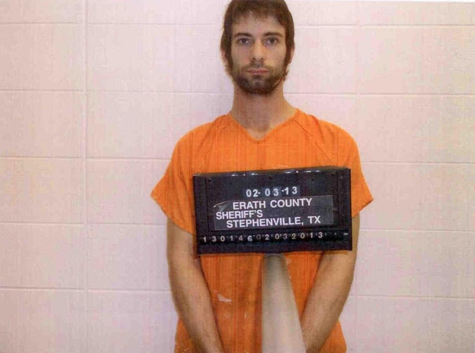 Eddie Ray Routh is pictured in a booking photo. Routh is a suspect in the shooting and killing of former Navy SEAL Sniper Chris Kyle.