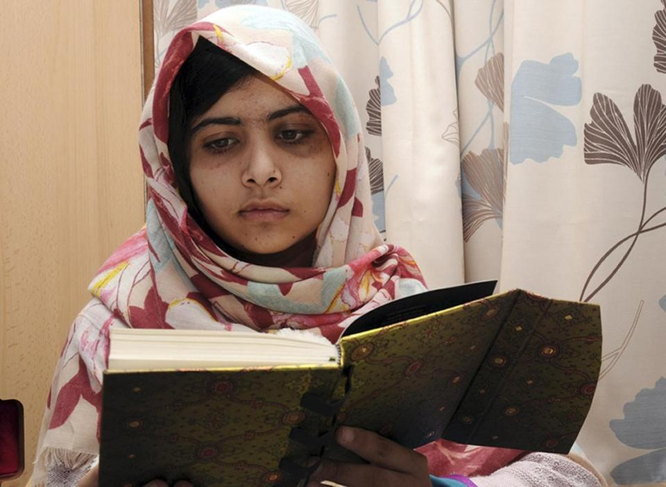 Malala Yousufzai, 15, was targeted for her advocacy for girls' education.