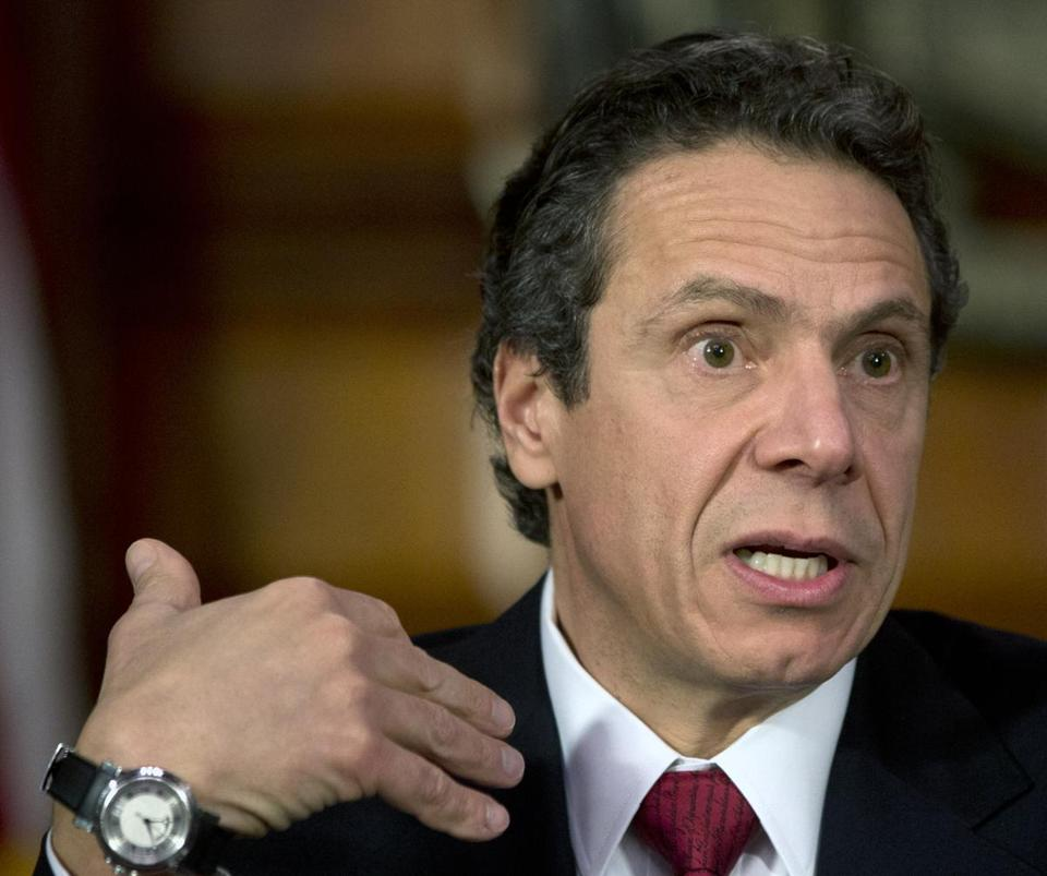 Andrew Cuomo plans a Niagara Falls project.