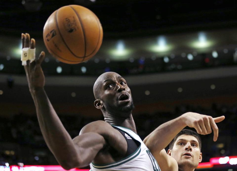 Kevin Garnett has been linked to trade rumors since Rajon Rondo was lost for the season.