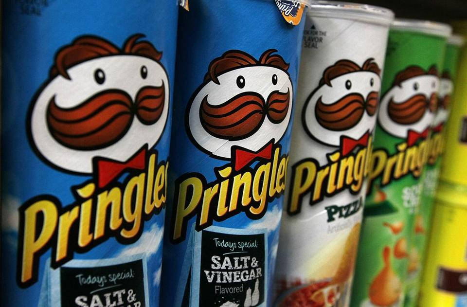 Revenue from Pringles sales rose 5 percent.