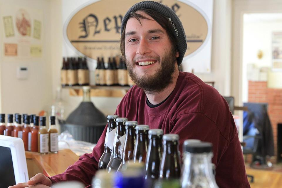 Thomas Neel, owner of Candia Road Brewing Co., said demand for his craft product has been unexpectedly high.