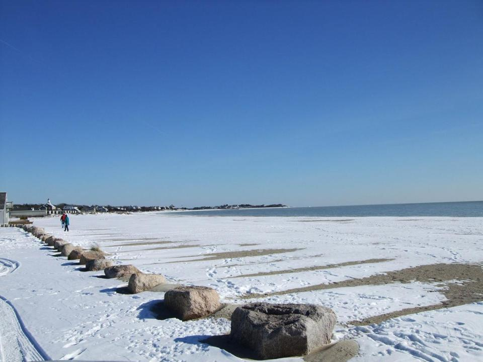 One of the many beaches you can have to yourself in the off-season is Craigville Beach in Centerville.