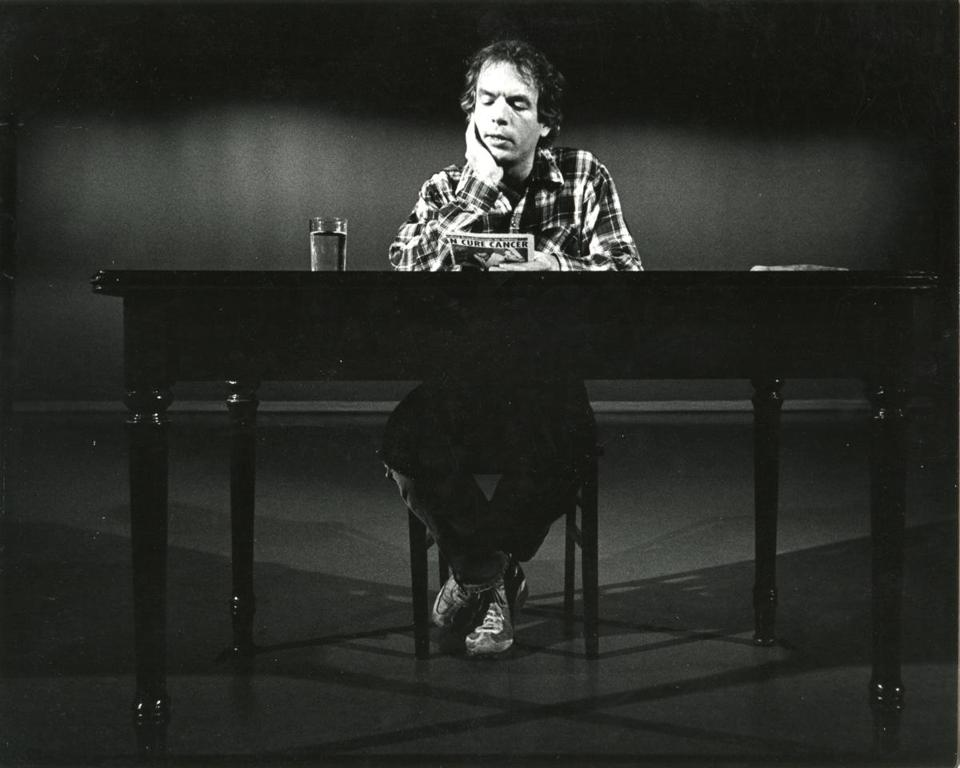 "Spalding Gray in Steven Soderbergh's ""And Everything Is Going Fine."""