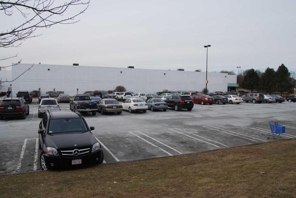 The former Sports Authority space at the north end of Liberty Tree Mall would be used as a slots parlor under the plan.