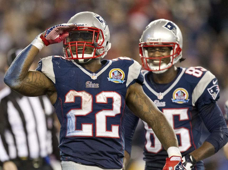 Stevan Ridley's performance in 2012 helped the Patriots' running backs improve as a group.
