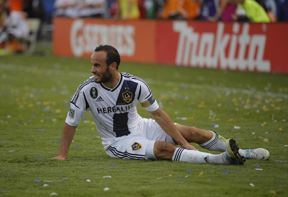 Landon Donovan is taking a break from soccer following the Los Angeles Galaxy's second straight MLS title.