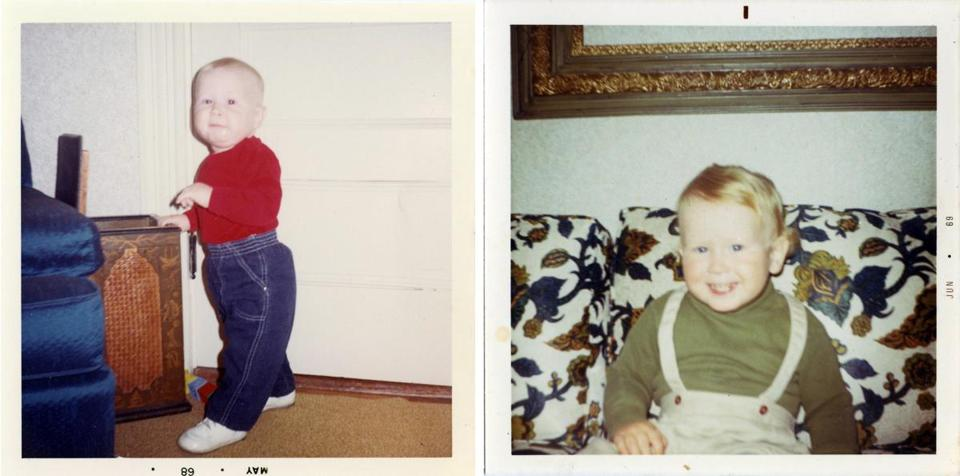 "Douglas Cyr, the late son of James ""Whitey"" Bulger and Lindsey Cyr of Weymouth, at about two years old."