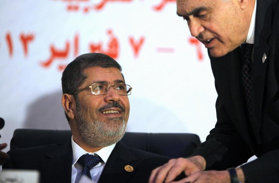 Egyptian President Mohammed Morsi, a Sunni, has criticized the Alawite-led Syrian regime.
