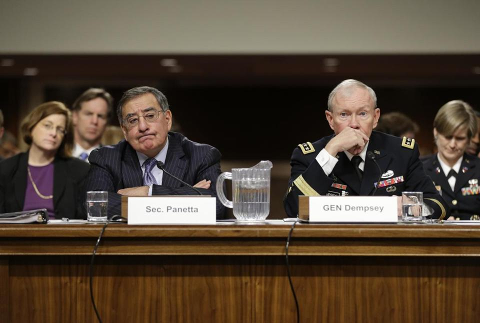 Leon Panetta and General Martin Dempsey told senators that they supported the plan.