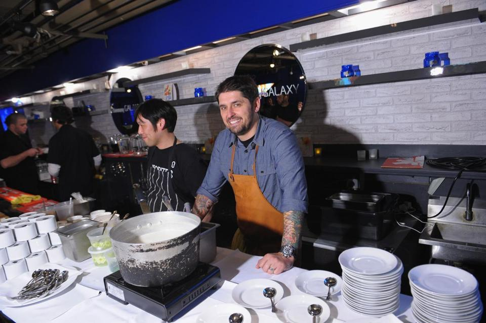 """I think it's very exciting to try and make somebody better. Especially the home cooks,"" says chef Ludo Lefebvre, one of the chef judges on the new reality food series ""The Taste."""
