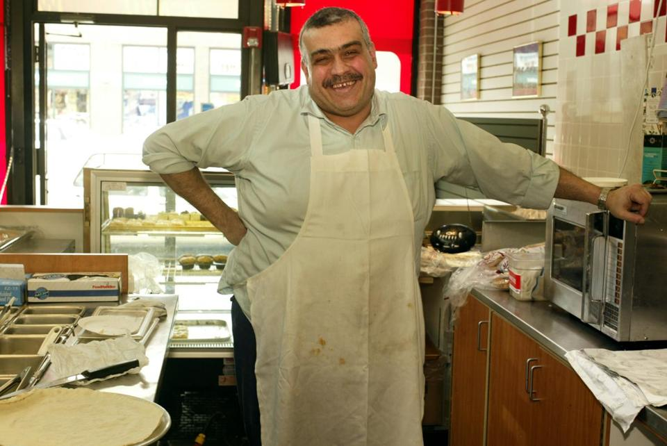 Sami Saba started his food business in a converted bread truck in 1979.