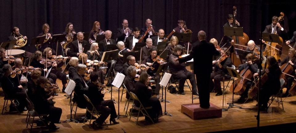 The Brockton Symphony Orchestra.