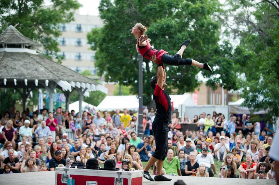 The Edmonton International Fringe Theatre Festival is the largest and longest-running (since 1982) in North America.
