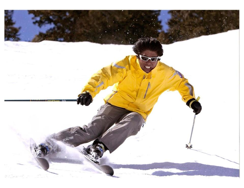 Wayne Wong, 63, will be inducted into the US Ski and Snowboard Hall of Fame in April.