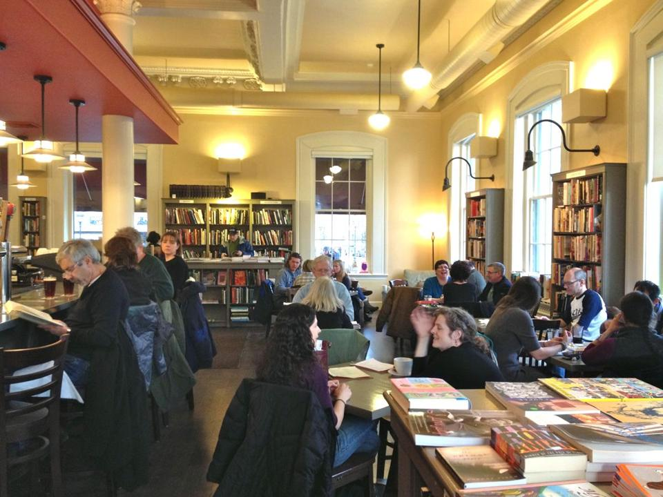 Portsmouth Book & Bar opened in December and mixes books with food, wine, beer, coffee, and camaraderie.
