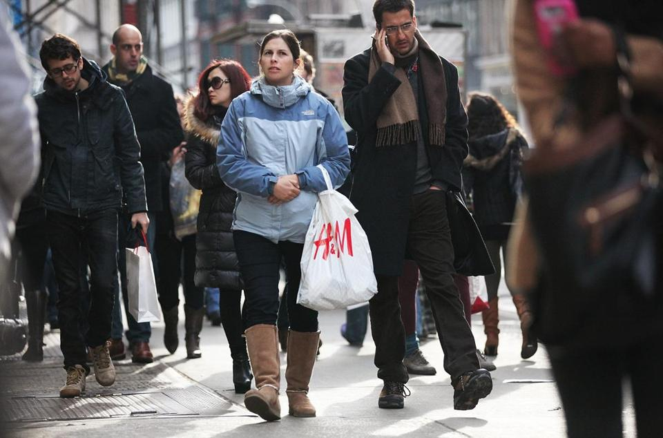 Retail sales ticked up 0.1 percent in January from December, the Commerce Department said.