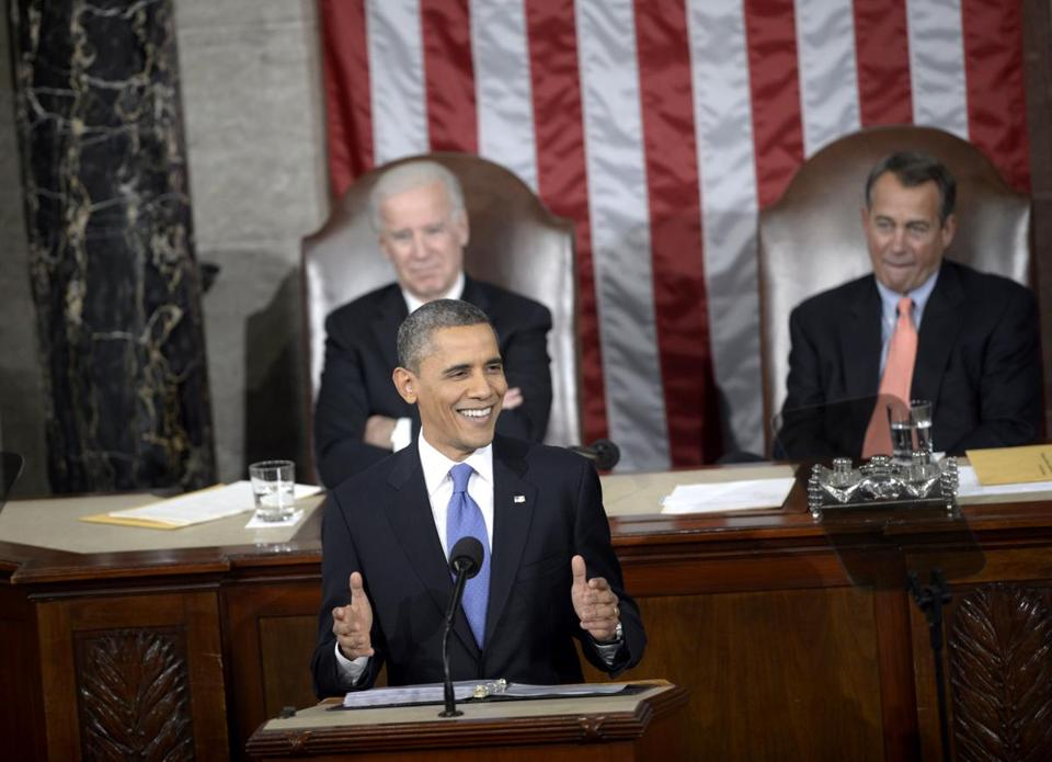 President Obama delivered the annual State of the Union address to a joint session of the US Congress in the House chamber at the US Capitol on Tuesday.