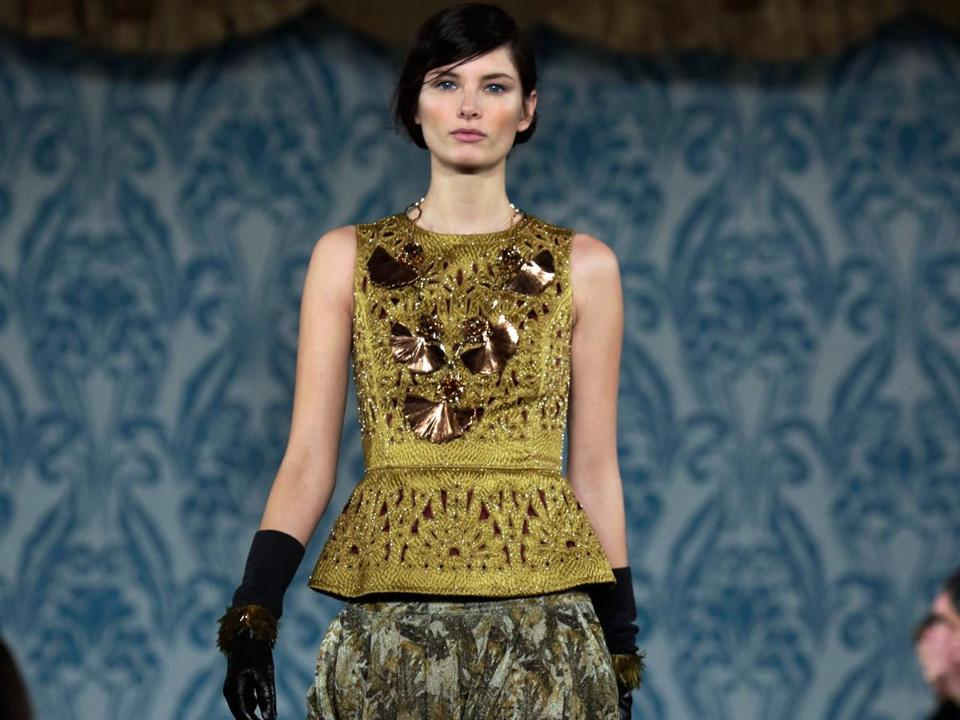 Tory Burch was one of the designers who took center stage at Fashion Week.