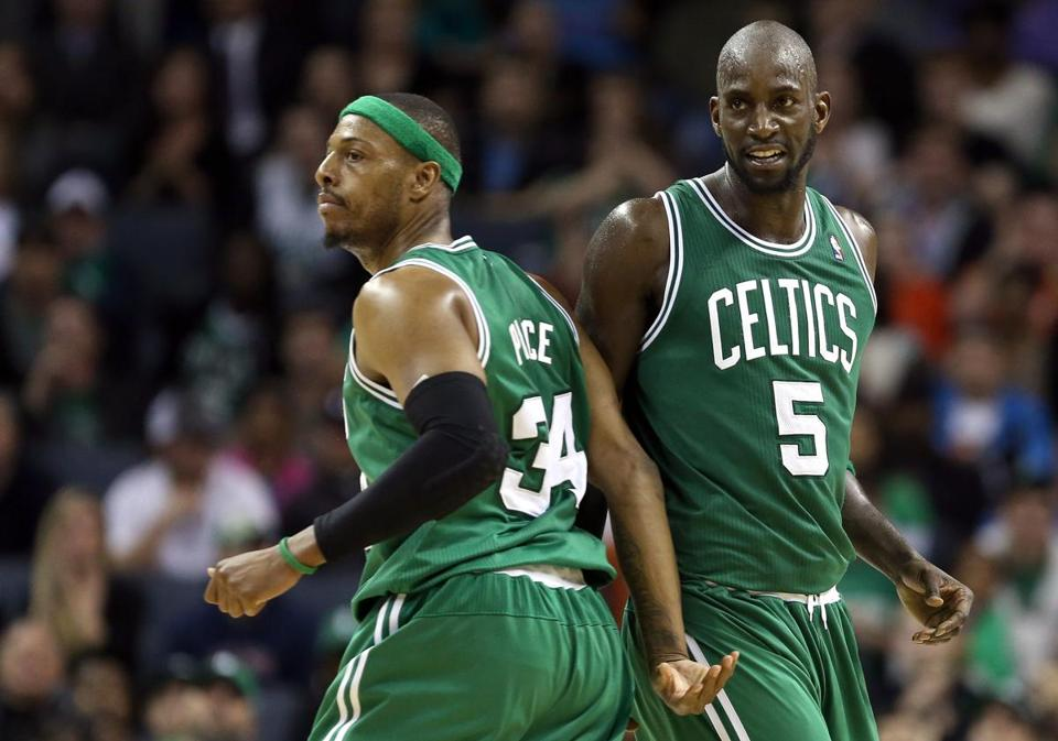 At some point, the Celtics will have to face the facts that the Paul Pierce and Kevin Garnett era will run out of time.