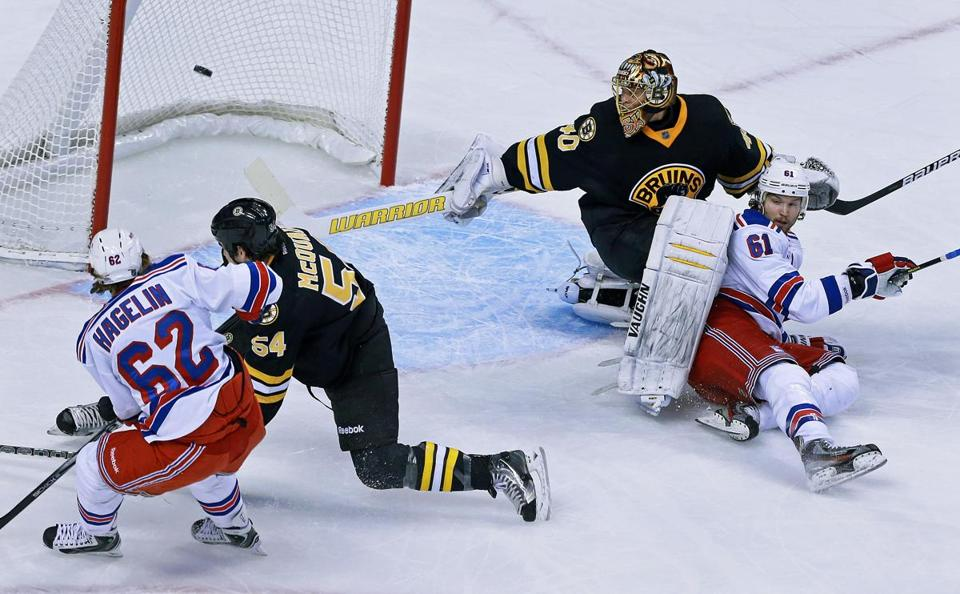 Tuukka Rask and the Bruins fell into a hole that was too deep for them to dig out of.