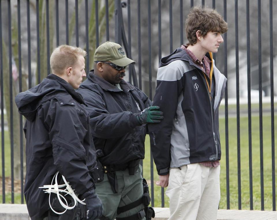 Conor Kennedy was arrested in Washington for civil disobedience.