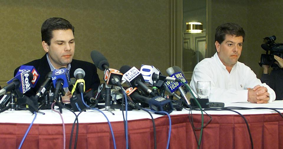 Michael Derderian (right) and his brother Jeffrey (left) bought The Station in 2000.