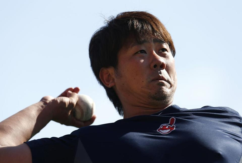 Daisuke Matsuzaka worked out in Indians camp on Tuesday.