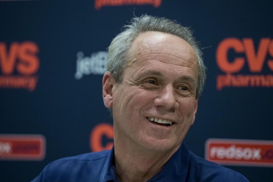 """Maybe to everybody we have something to prove,"" said Sox president Larry Lucchino."
