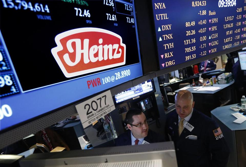 The SEC says unnamed suspects spent nearly $90,000 on call options on the day of the Heinz takeover.