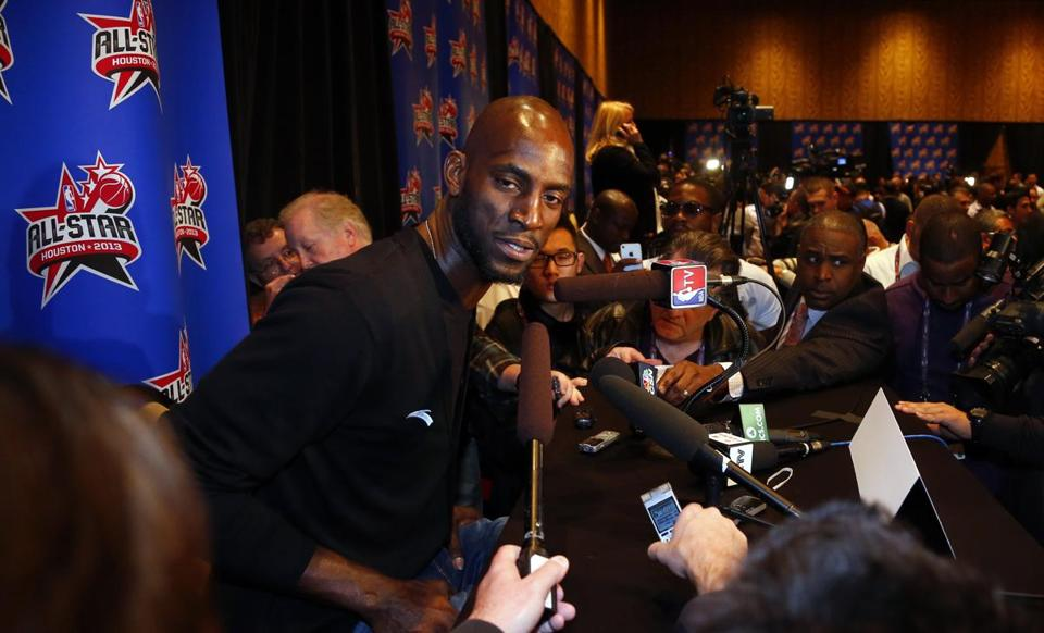 Celtic Kevin Garnett told the media he never should have said this will be his final All-Star Game appearance.
