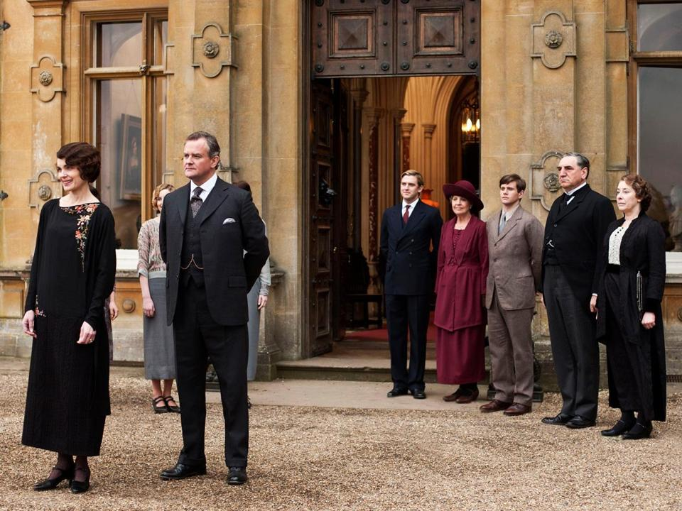 The TV show ''Downton Abbey''