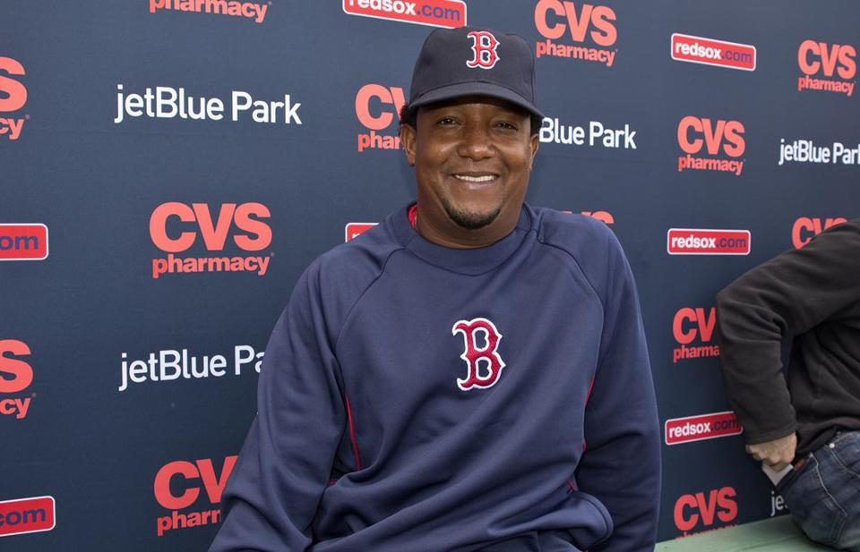 Pedro Martinez is back with the Red Sox as a special instructor.
