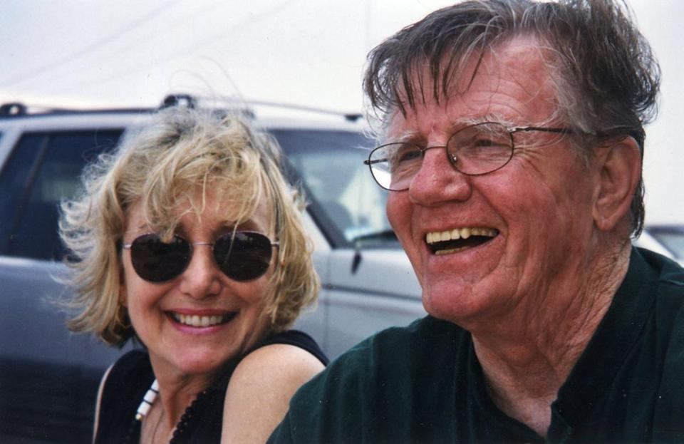 Bill Rossi, with his wife, Gretchen.