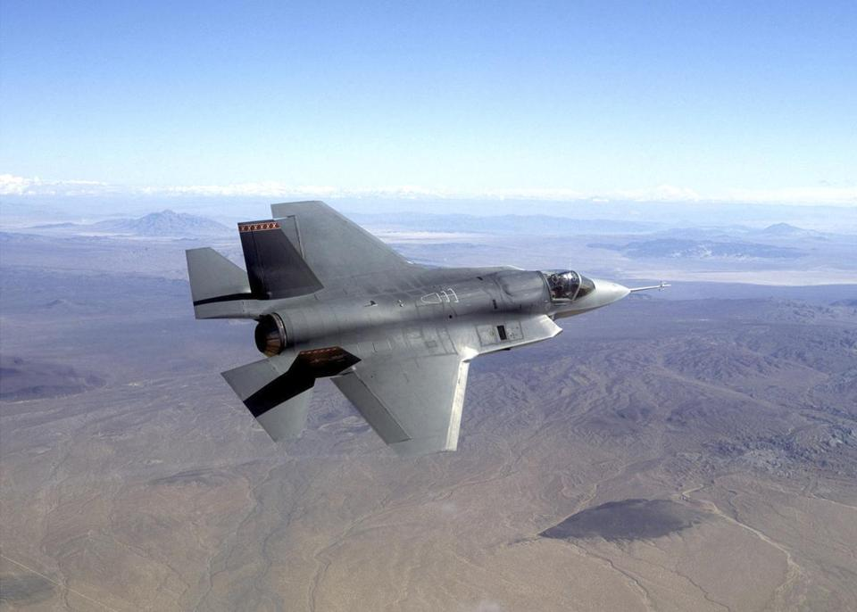 The F-35 is slated to replace other jets.